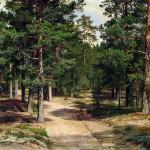 "Иван Шишкин ""Сестрорецкий бор"" 1896"