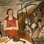 """Тереза Меллерович-Гелла """"Каменный мир"""" 1955"""
