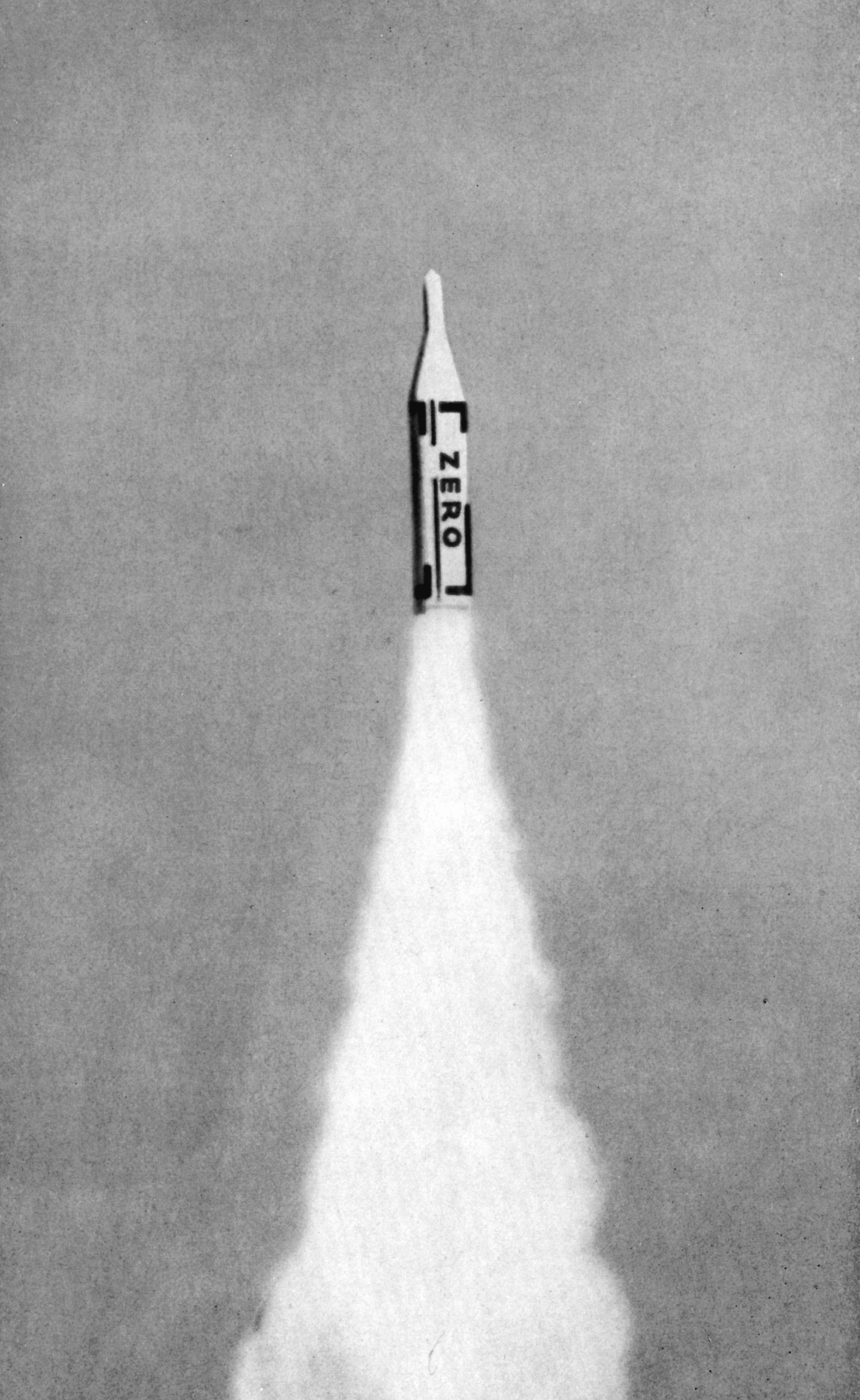 """Хайнц Мак """"Иллюстрация из журнала группы «Zero» 1961"""