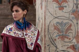 Sirinbird создали платок «Московское чудо» по заказу Исторического музея в честь его 145-летия.