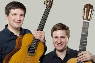 Концерт дуэта «Русские гитары» - Владимир Сумин и Владимир Маркушевич.