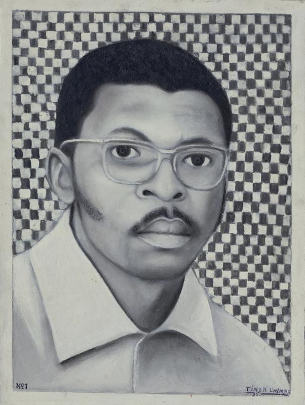 """Тинда Луимба """"Портрет Нгузумбы Ибио"""" 1992"""
