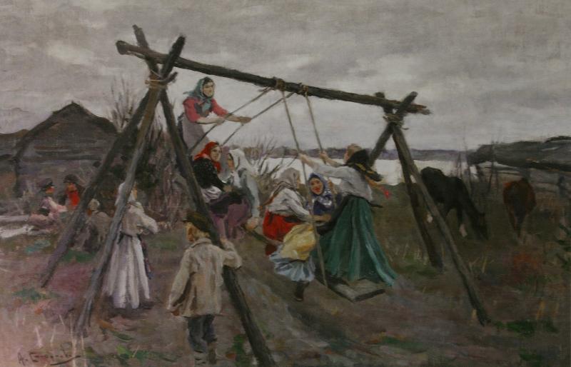 """Алексей Степанов """"Качели"""" 1910-е"""