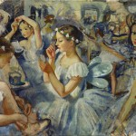 """Зинаида Серебрякова """"Девочки-сильфиды. (Балет """"Шопениана"""")"""" 1924"""