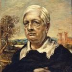 """Джорджо де Кирико """"Автопортрет в черном свитере"""" 1957"""