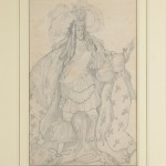 "Лев Бакст ""Эскиз костюма короля к балету П.И. Чайковского ""Спящая красавица"" 1921"