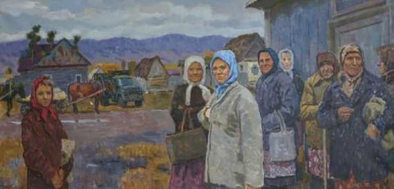 Руслан Кобозев «Привезут ли хлеб»