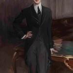 """Дж. Больдини """"Портрет графа С.П. Зубова"""" 1913"""