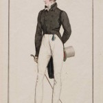 Костюм в английском вкусе. Лист из модного журнала «Costume Parisien». Франция, Париж. 1815