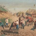 "Бунин Н.Н. ""Утро кавалеристов"" 1892"