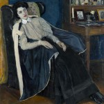"""Михаил Нестеров """"Портрет О.М. Нестеровой"""" 1905"""