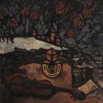 "Оскар Рабин ""Двор им. Художника Рухина"" 1971"