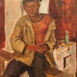 """Клара Власова """"Во время обеденного перерыва"""" 1960"""