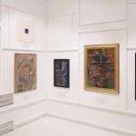 Вид экспозиции выставки «Вертограды Михаила Шварцмана» 2016