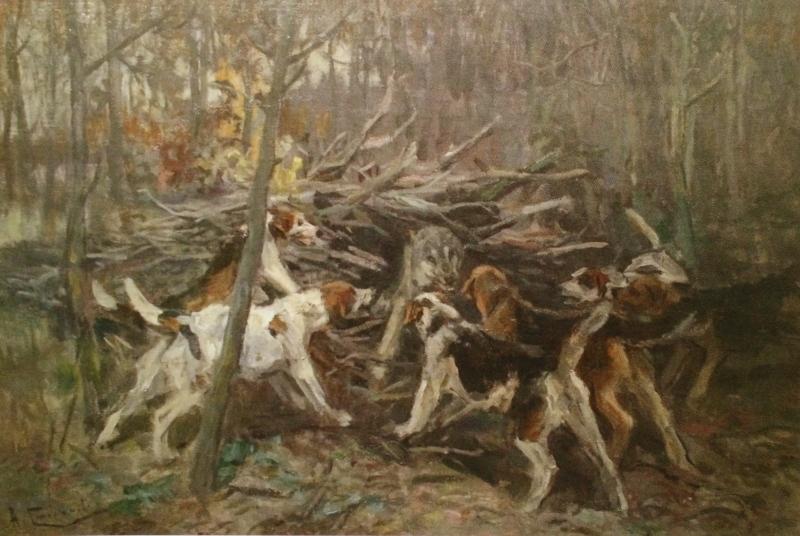 """Алексей Степанов """"Охота на волка"""" 1900-е"""
