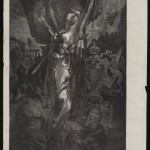 """М.О. Микешин """"Балканская мученица. Доколе, о Господи!.."""" Из журнала «Пчела» 1876"""