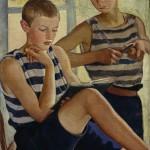 """Зинаида Серебрякова """"Мальчики в матросских тельняшках"""" 1919"""