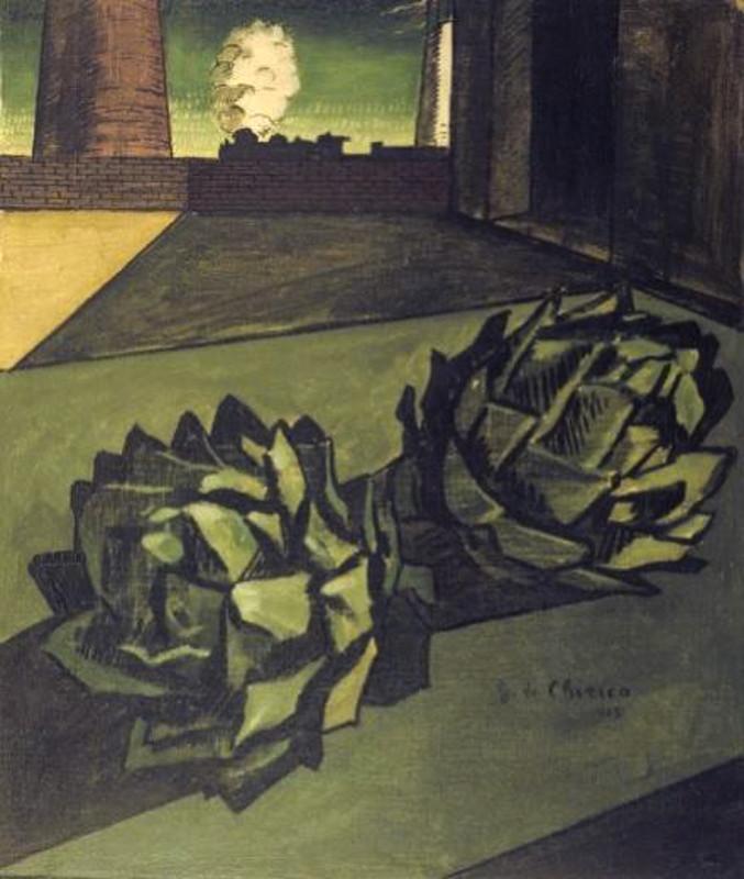 """Джорджо де Кирико """"Послеполуденная меланхолия"""" 1913"""