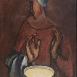 """Валентин Юстицкий """"Молочница"""" 1923"""