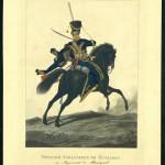 "Л. Киль ""Гусары. Обер-офицер"" 1815"