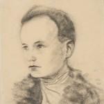 """Василий Чекрыгин """"Автопортрет"""" 1918"""
