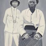 """Бурози """"Вождь Лумпунгу и его отец, Лумпунгу Каумбу Ка Нгойе"""" 1997"""