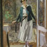 "Алексей Степанов ""На балконе"" 1910-е"
