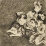 """Василий Чекрыгин """"Расстрел"""" 1920"""