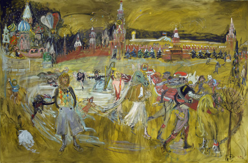 "Натта Конышева ""Красная площадь"" 2007"