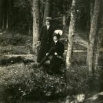 Борисова-Мусатова Е.Э и неизвестная 1911