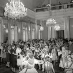 "Евгений Халдей ""Танцы в Доме культуры. Ленинград"" 1945"