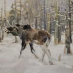 """Алексей Степанов """"Лось"""" 1910"""