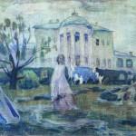 """Виктор Борисов-Мусатов """"Призраки"""" 1903"""