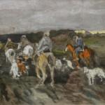 "Алексей Степанов ""На охоте"" 1910-е"