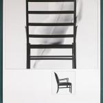"""Поль Саломонсен """"Плакат """"Колониальный стул"""" дизайнера Оле Ваншера"""" 1960"""