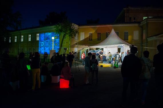 Ночь в музее. 20 мая 2017. Музей декоративно-прикладного и народного искусства.