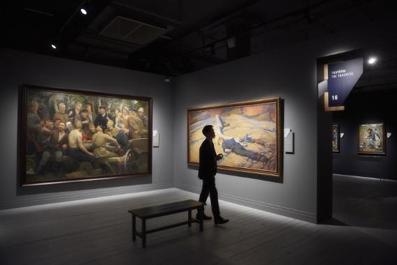 Ночь в музее. 20 мая 2017. Институт русского реалистического искусства.