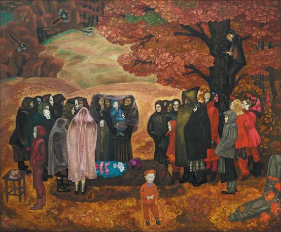 Виктор Попков «Хороший человек была бабка Анисья»
