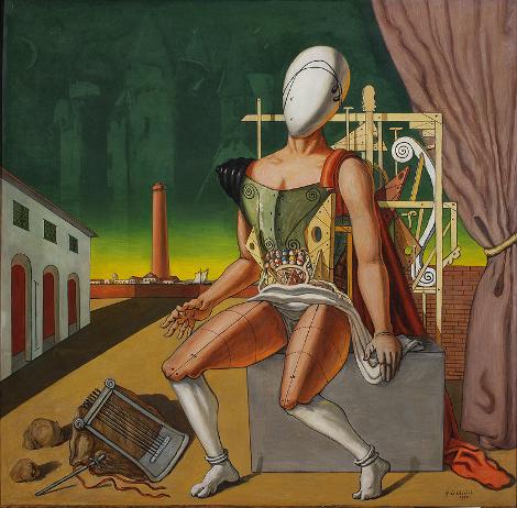 Джорджо де Кирико «Орфей – уставший трубадур» 1970 Фонд Джорджо и Изы де Кирико, Рим
