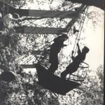 На качелях, 1950-е