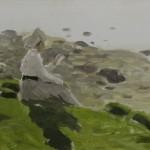 """85. Степанов Алексей """"На берегу"""" 1905 Частное собрание"""