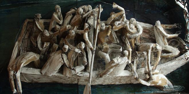 Мария Кулагина. В одной лодке.