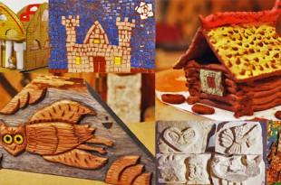 Своими руками. Работы учеников Открытых мастерских Детского центра МУАР.