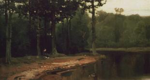 Пейзажи Виктора Васнецова.