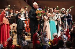 Концерт юных виртуозов в рамках XIV Международного фестиваля фонда Владимира Спивакова «Москва встречает друзей».