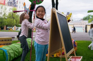 День защиты детей в Музее декоративно-прикладного искусства.