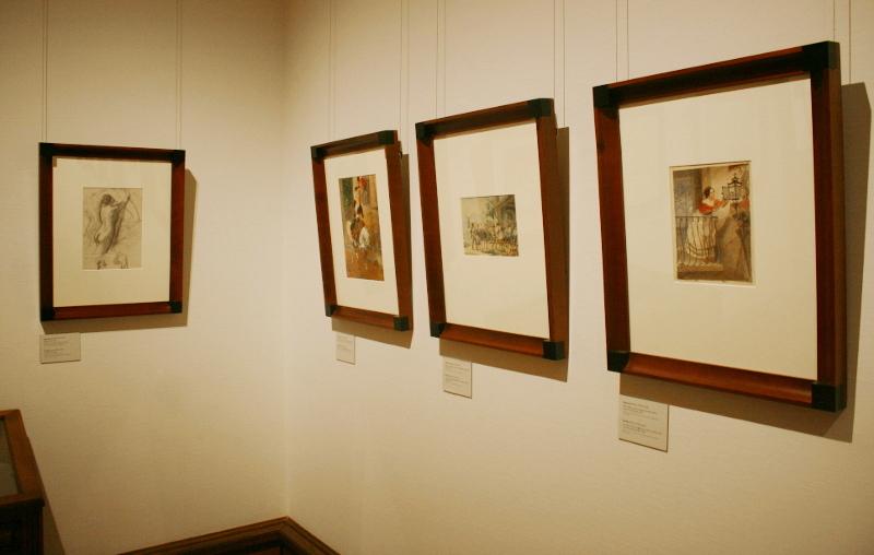 Экспозиция выставки. Карл Брюллов.