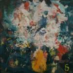 """Арон Бух """"Цветы в жёлтой вазе"""" 2003"""