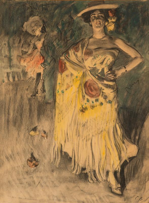"""Сергей Виноградов """"Испанская танцовщица (Отеро)"""" 1903"""