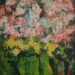 """Арон Бух """"Цветы в зелёной вазе"""" 1999"""